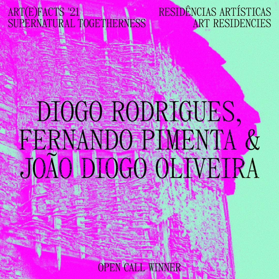 Diogo Rodrigues, Fernando Pimenta & João Diogo Oliveira